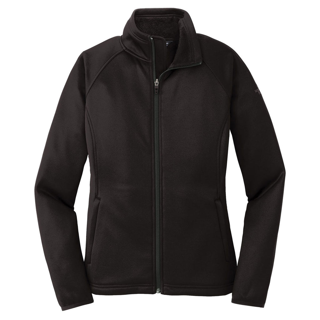 The North Face Women s Black Canyon Flats Stretch Fleece Jacket. ADD YOUR  LOGO 969d2384dc
