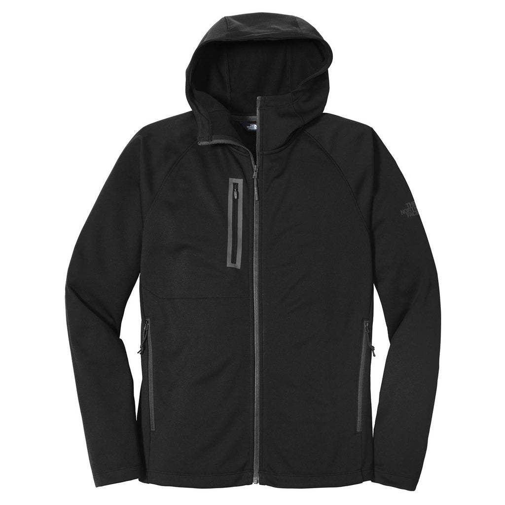 9568f4a8b4b8 The North Face Men s Black Canyon Flats Fleece Hooded Jacket