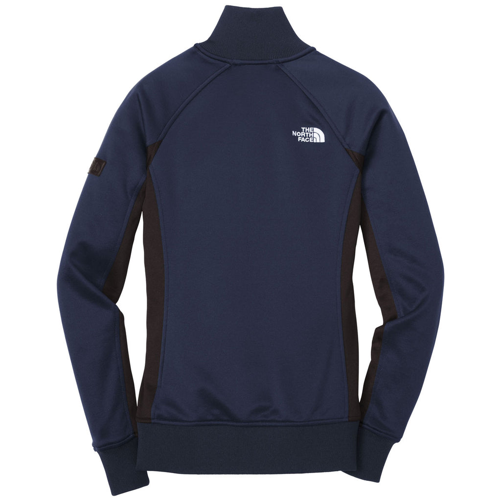 The North Face Women's Urban Navy Tech Full Zip Fleece Jacket