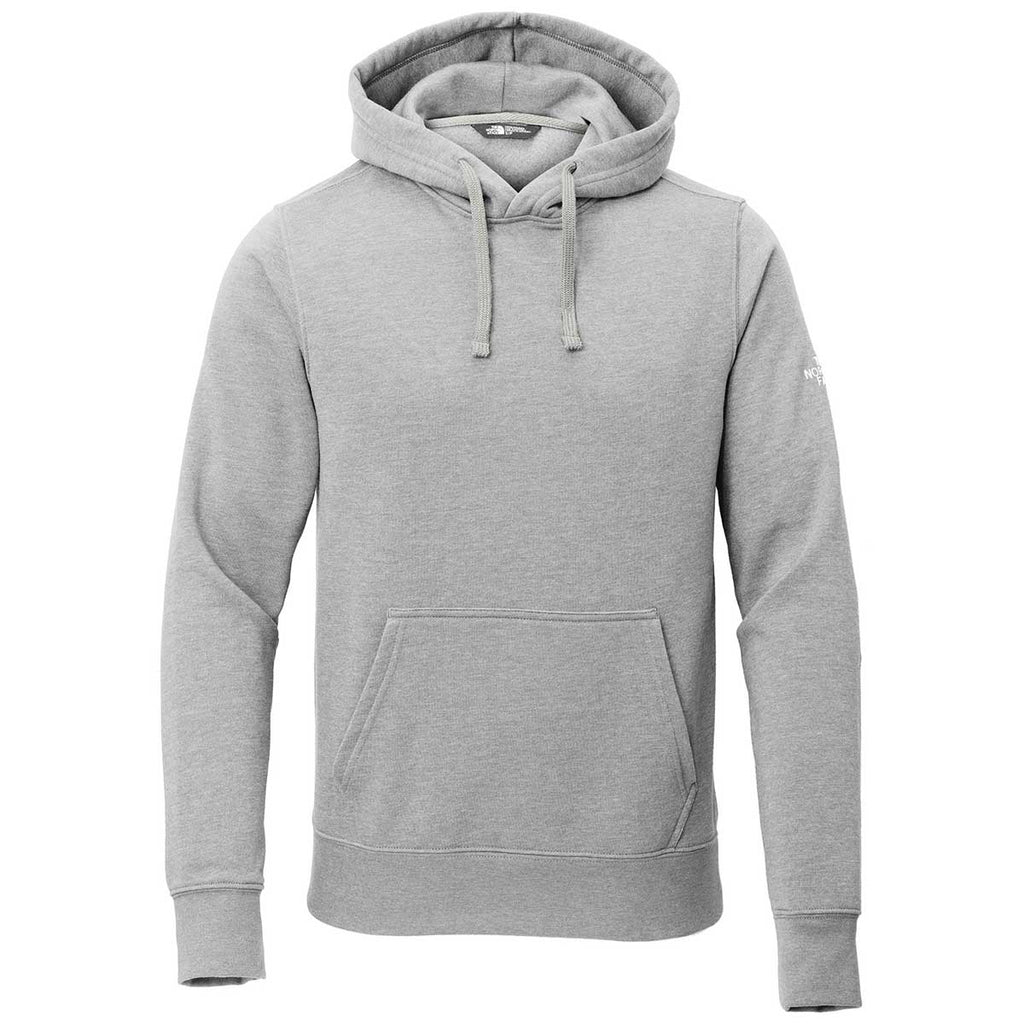 The North Face Men S Light Grey Heather Pullover Hoodie