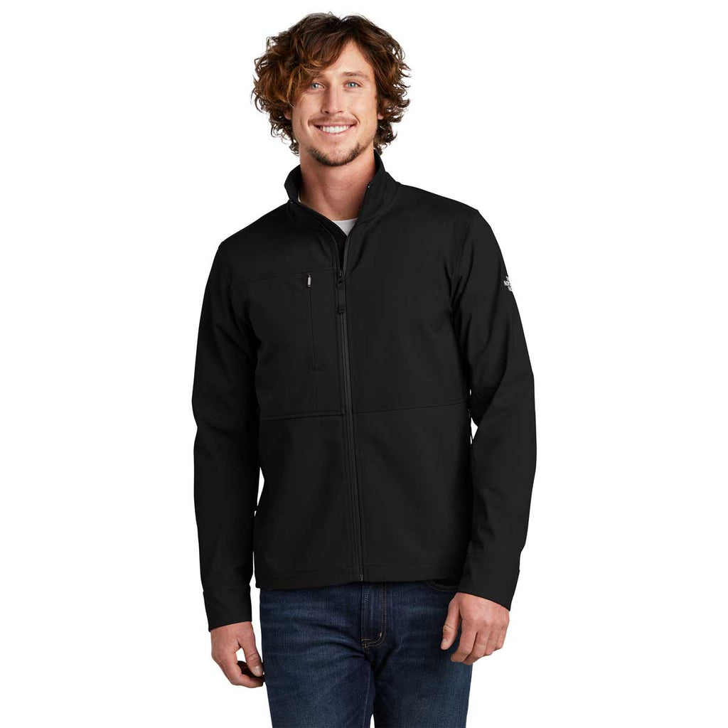 The North Face Men's TNF Black Castle Rock Soft Shell Jacket