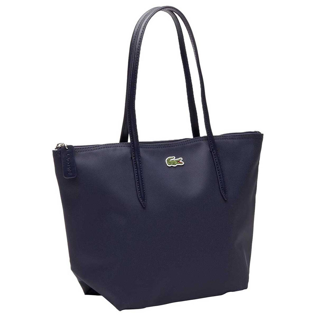 Lacoste Women's Shadow Blue L.12.12 Small Tote Bag