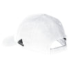 adidas White Structured Adjustable Cap