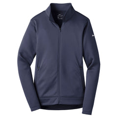Nike Women s Midnight Navy Therma-FIT Full-Zip Fleece f956b7a401