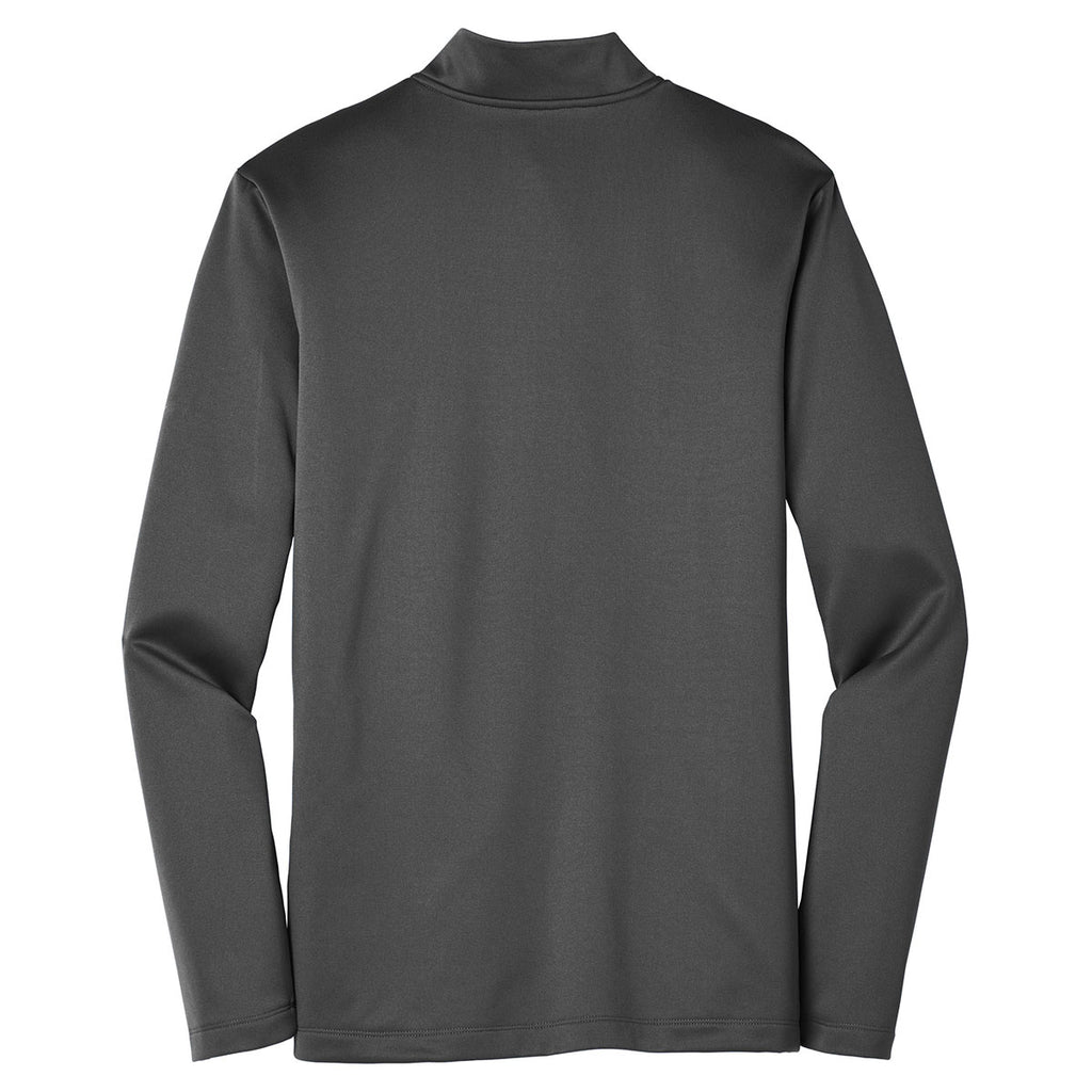 Nike Men's Anthracite Therma-FIT Full-Zip Fleece