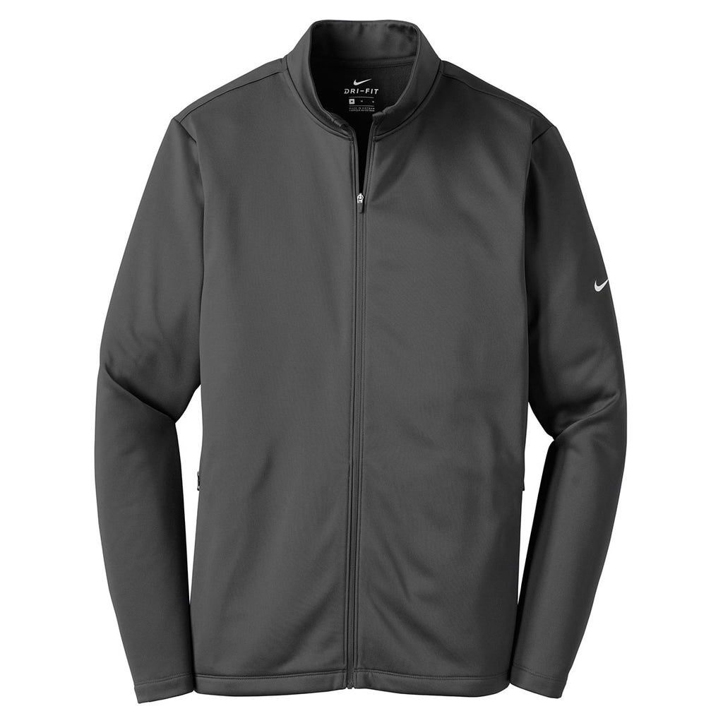9ece3a55ed6b Nike Men s Anthracite Therma-FIT Full-Zip Fleece