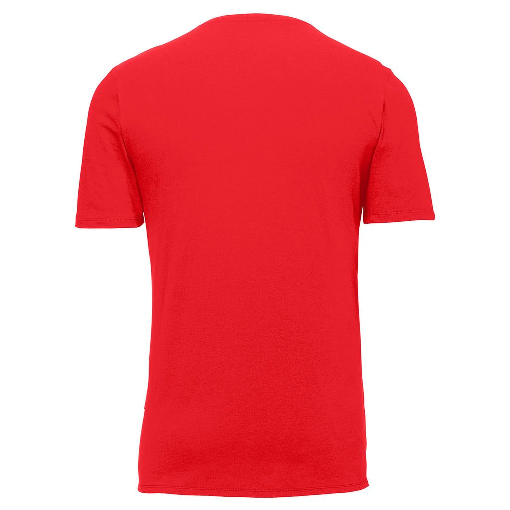 Nike Men's University Red Core Cotton Tee