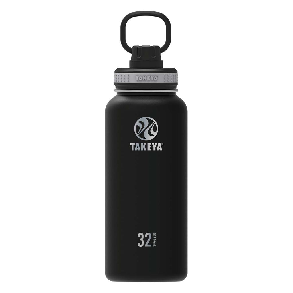 Takeya Black 32 oz Bottle