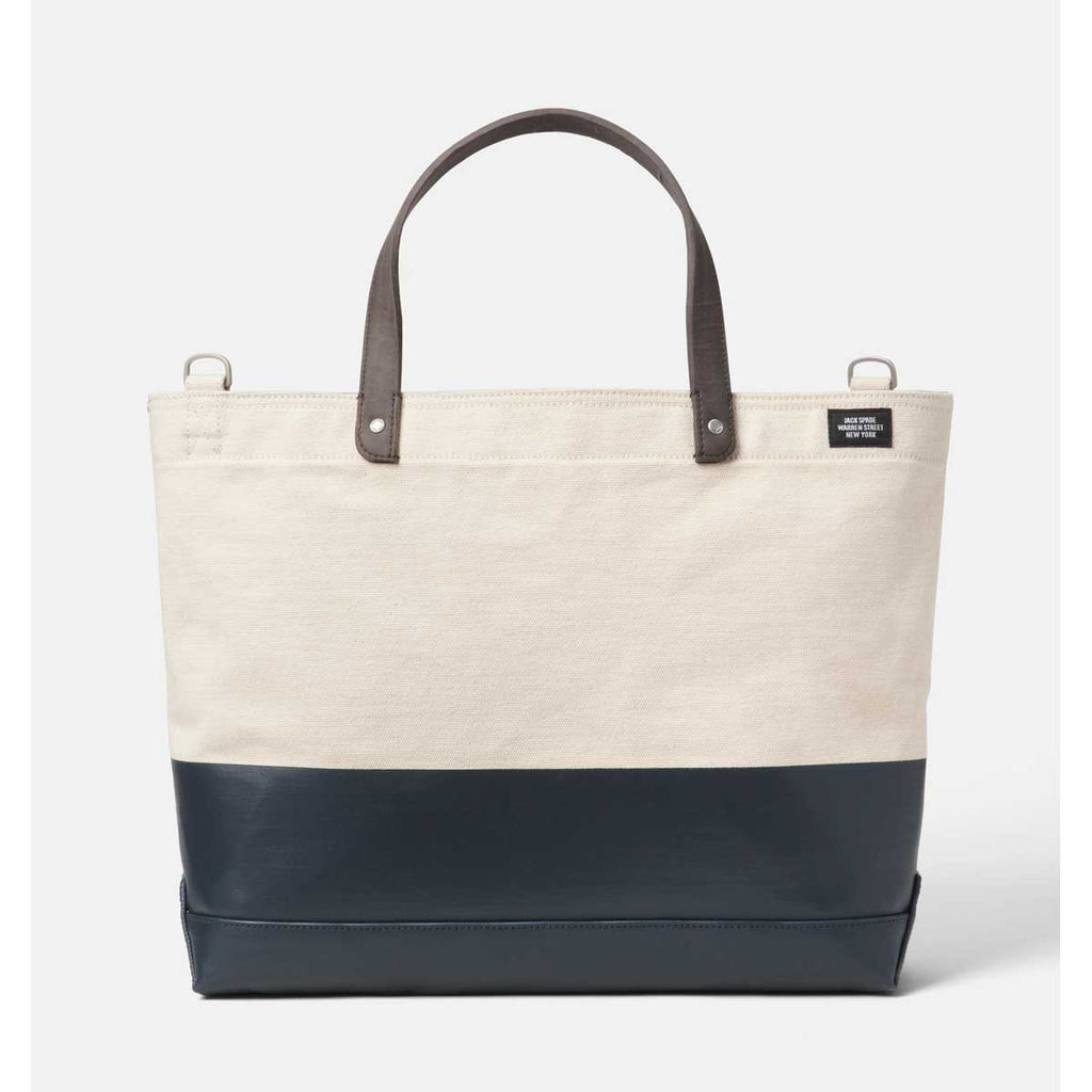 7349a260e Jack Spade Men's Natural/Navy Dipped Industrial Canvas Dipped ...