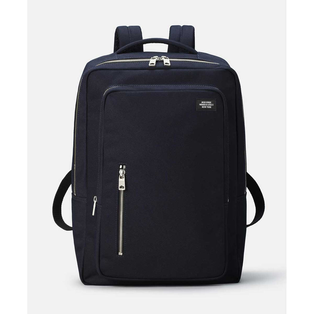 77f69c0eb230 Jack Spade Men's Navy Commuter Nylon Cargo Backpack