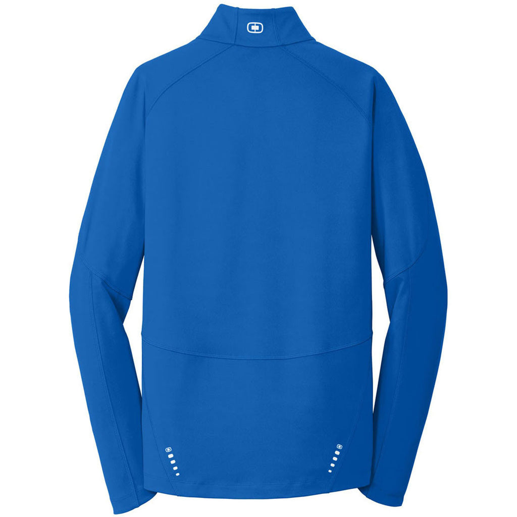 OGIO Endurance Men's Electric Blue Radius Quarter Zip