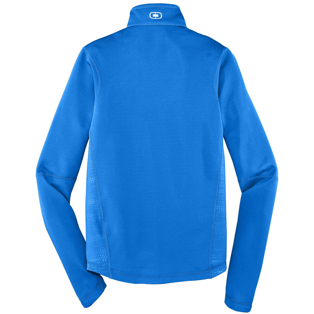OGIO Men's Electric Blue Endurance Fulcrum Full-Zip