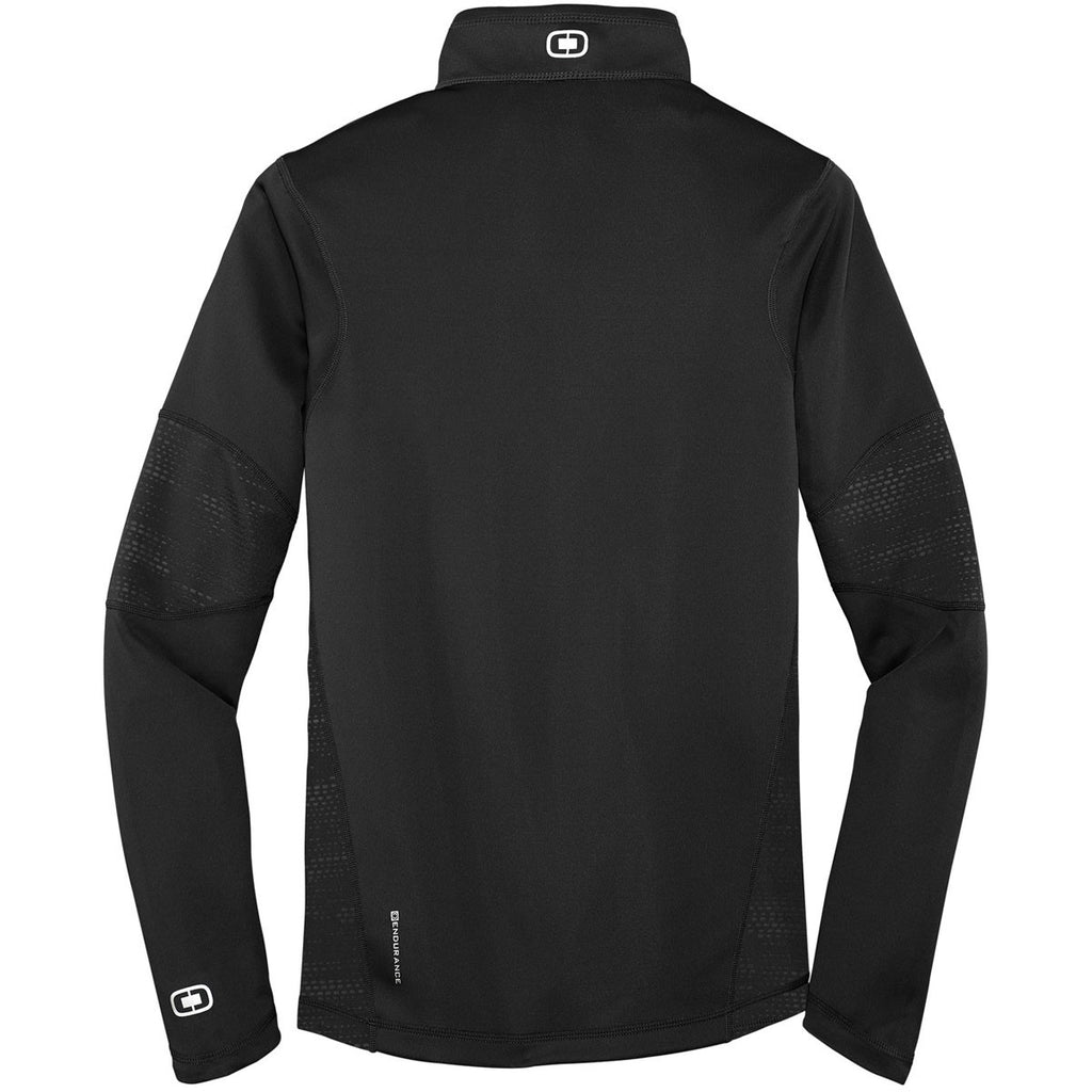 OGIO Men's Blacktop Endurance Fulcrum Quarter-Zip