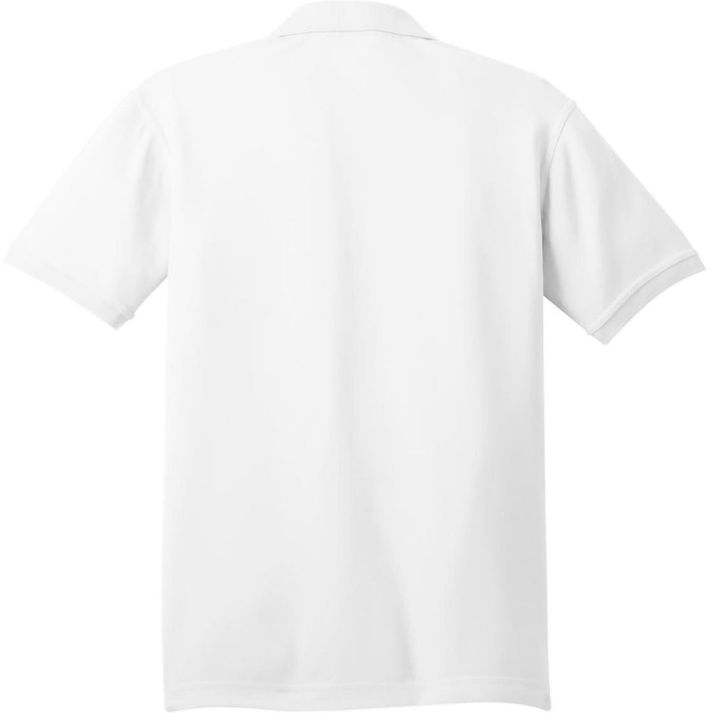 OGIO Men's Bright White Caliber 2.0 Polo