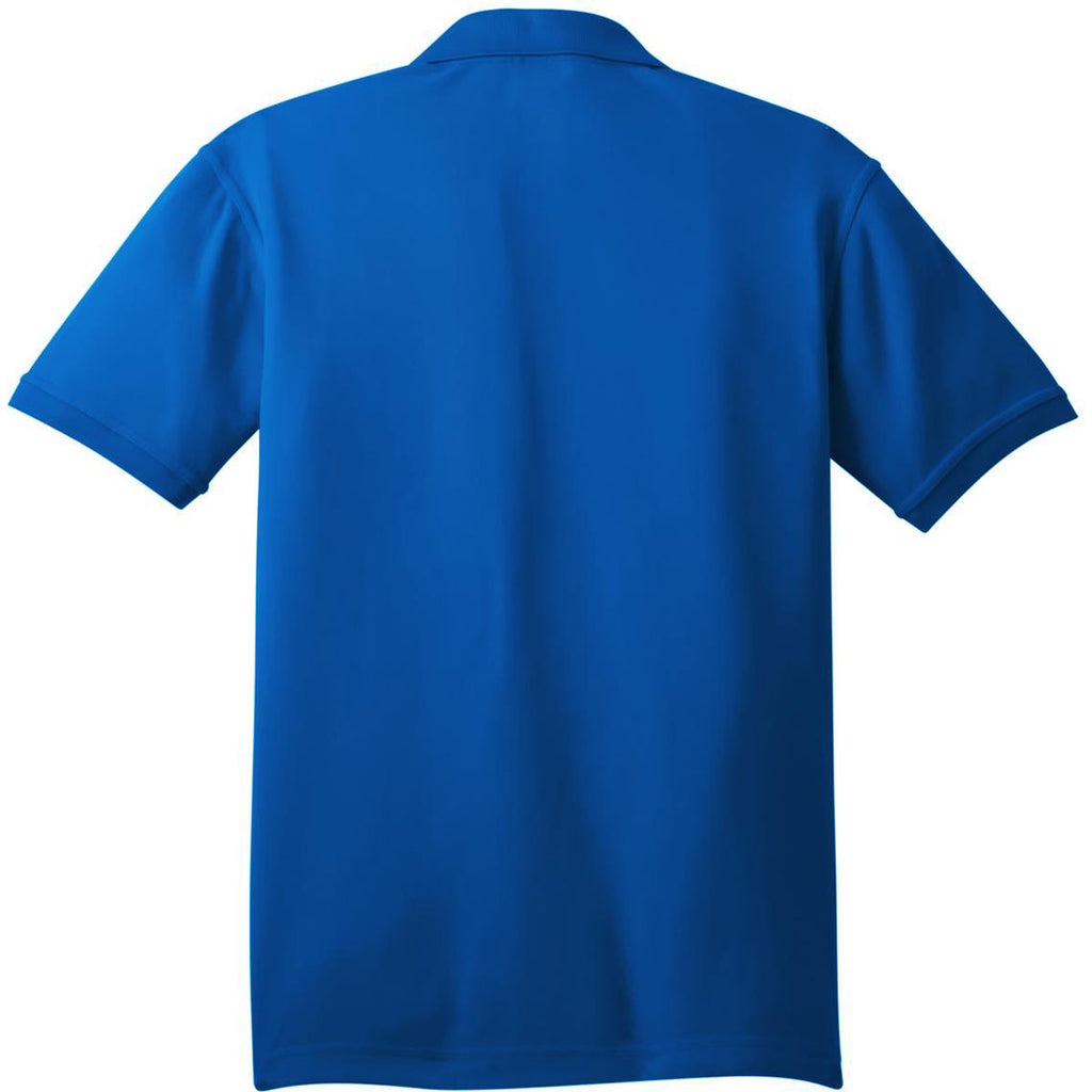 OGIO Men's Electric Blue Caliber 2.0 Polo