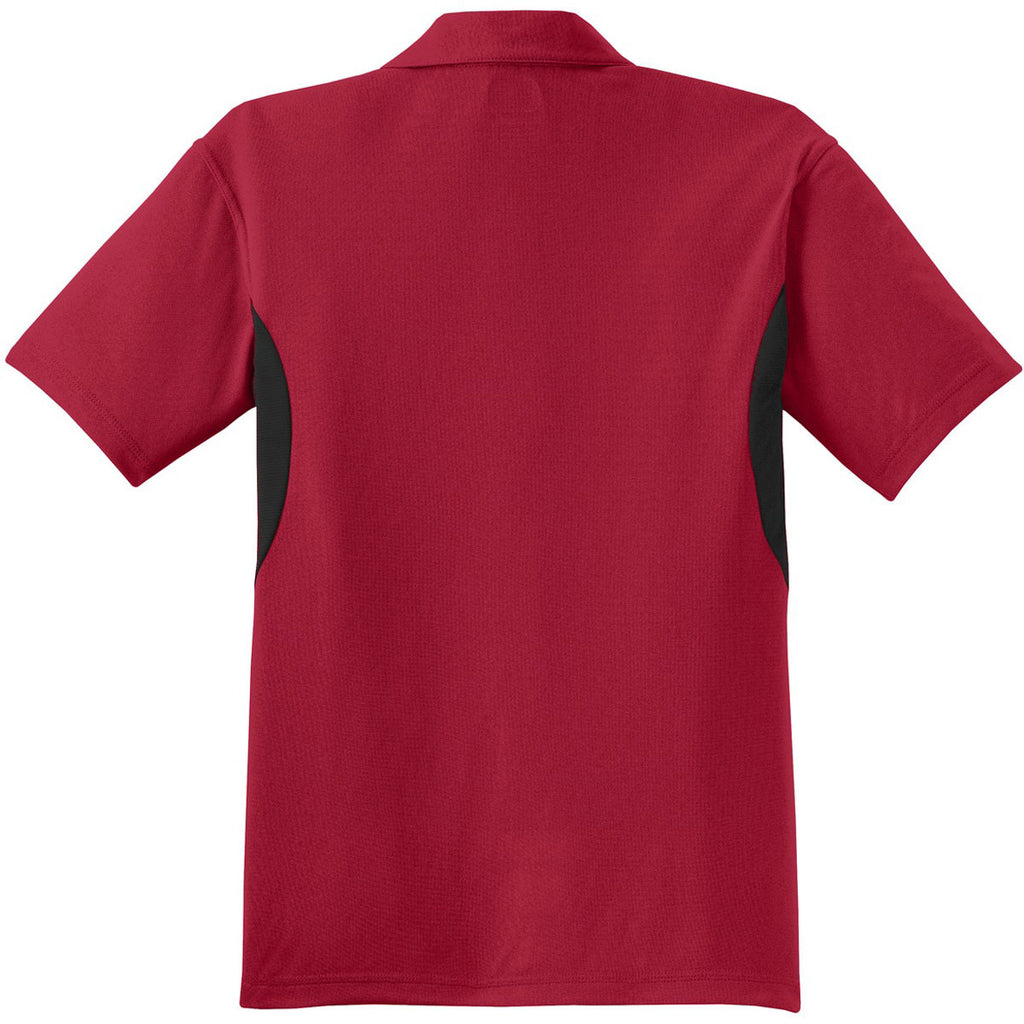 OGIO Men's Signal Red/Black Accelerator Polo