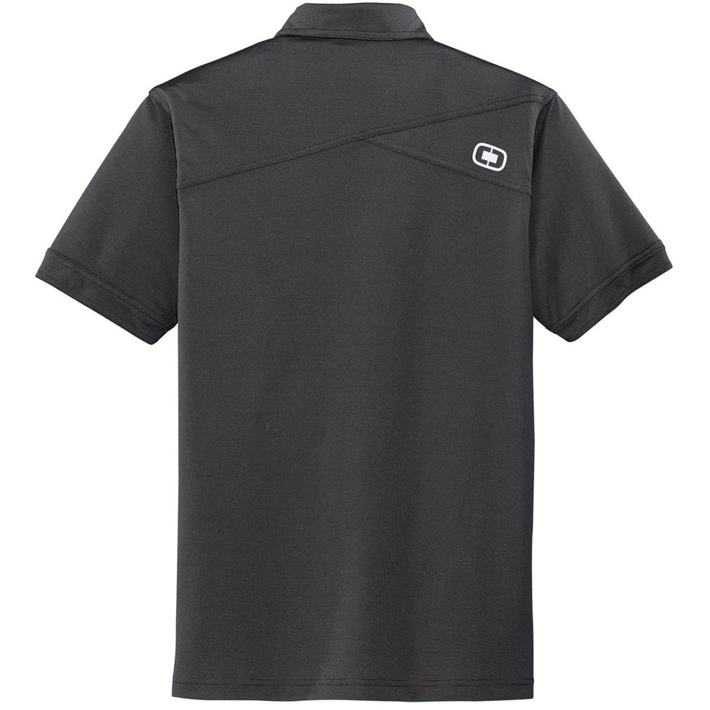 OGIO Men's Diesel Grey Leveler Polo