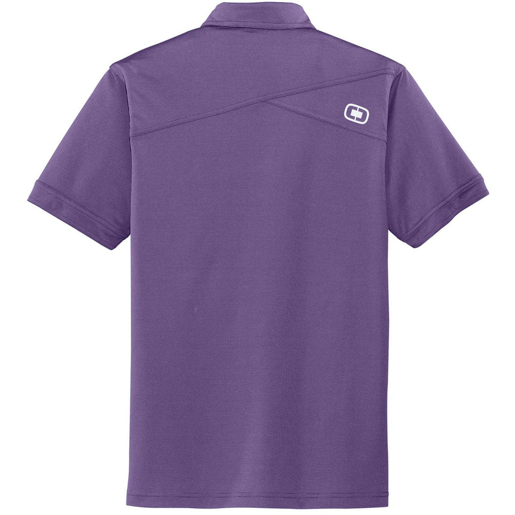 OGIO Men's Purple Haze Leveler Polo