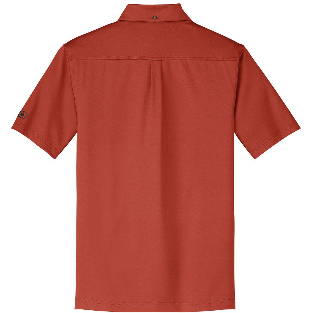 OGIO Men's Wattage Orange Gauge Polo
