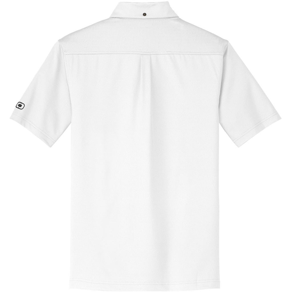 OGIO Men's White Gauge Polo