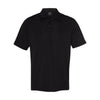 oakley-black-basic-polo