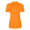 oakley-womens-orange-solana-polo