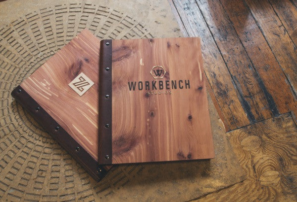 Woodchuck USA Walnut Padfolio