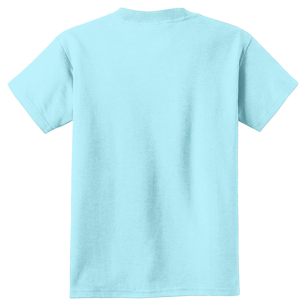 Port & Company Youth Glacier Pigment-Dyed Tee