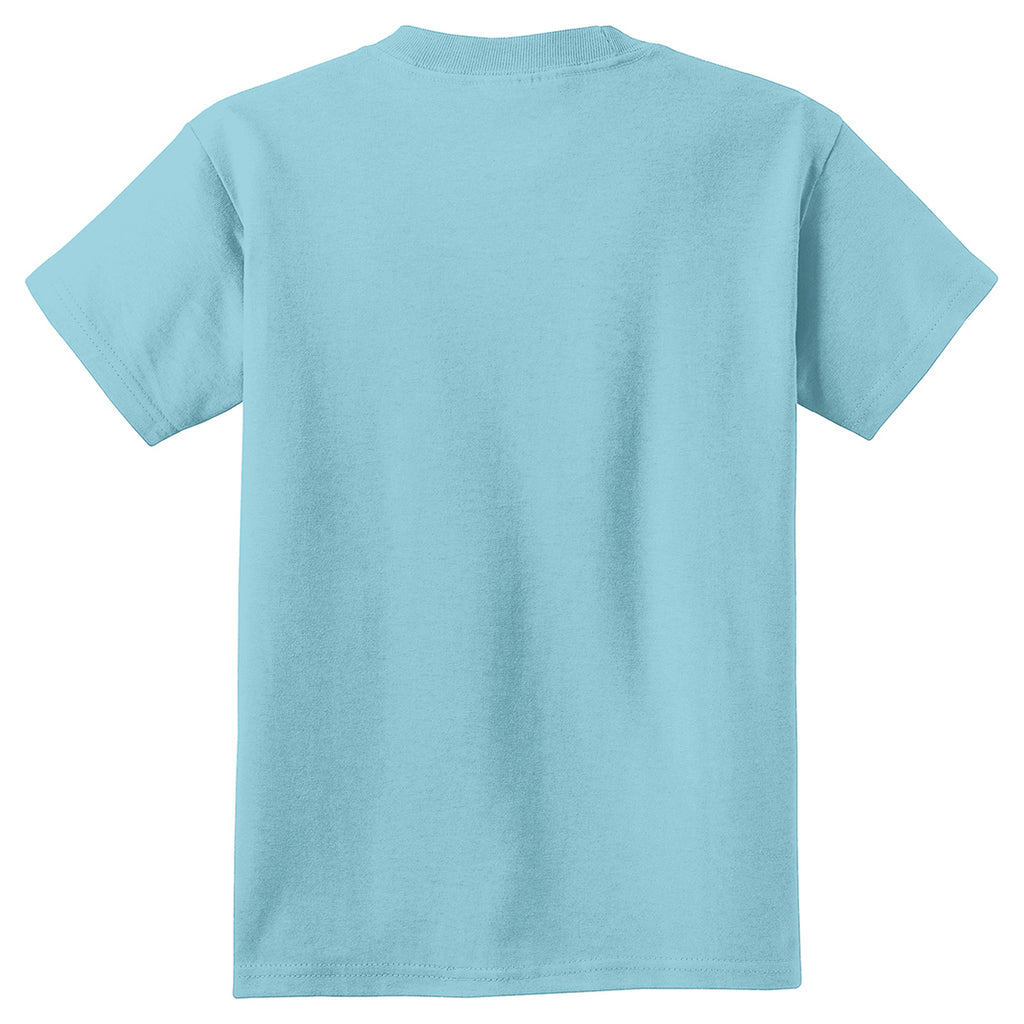 Port & Company Youth Mist Pigment-Dyed Tee