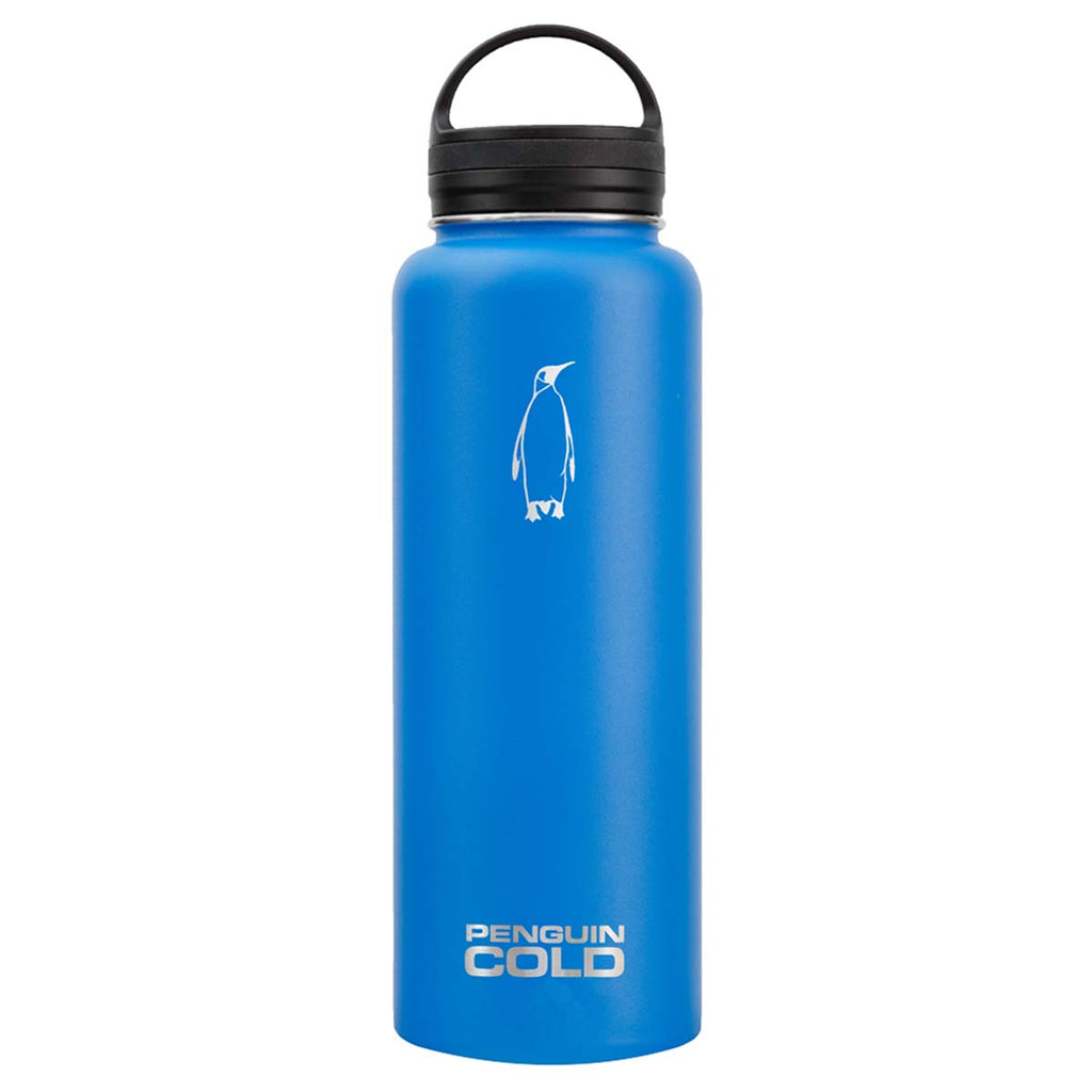 Penguin Cold Blue 40 oz Bottle with Loop Handle Lid