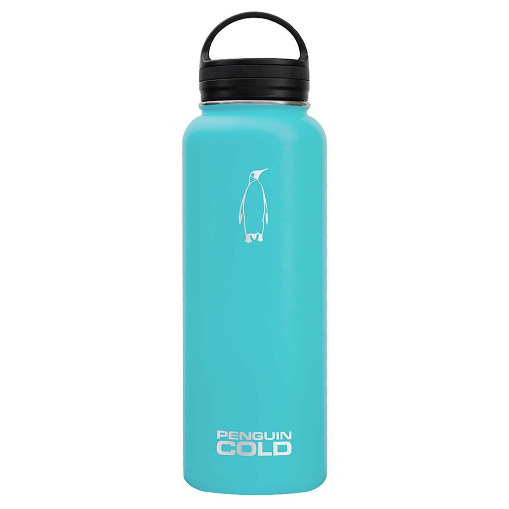 Penguin Cold Teal 40 oz Bottle with Loop Handle Lid