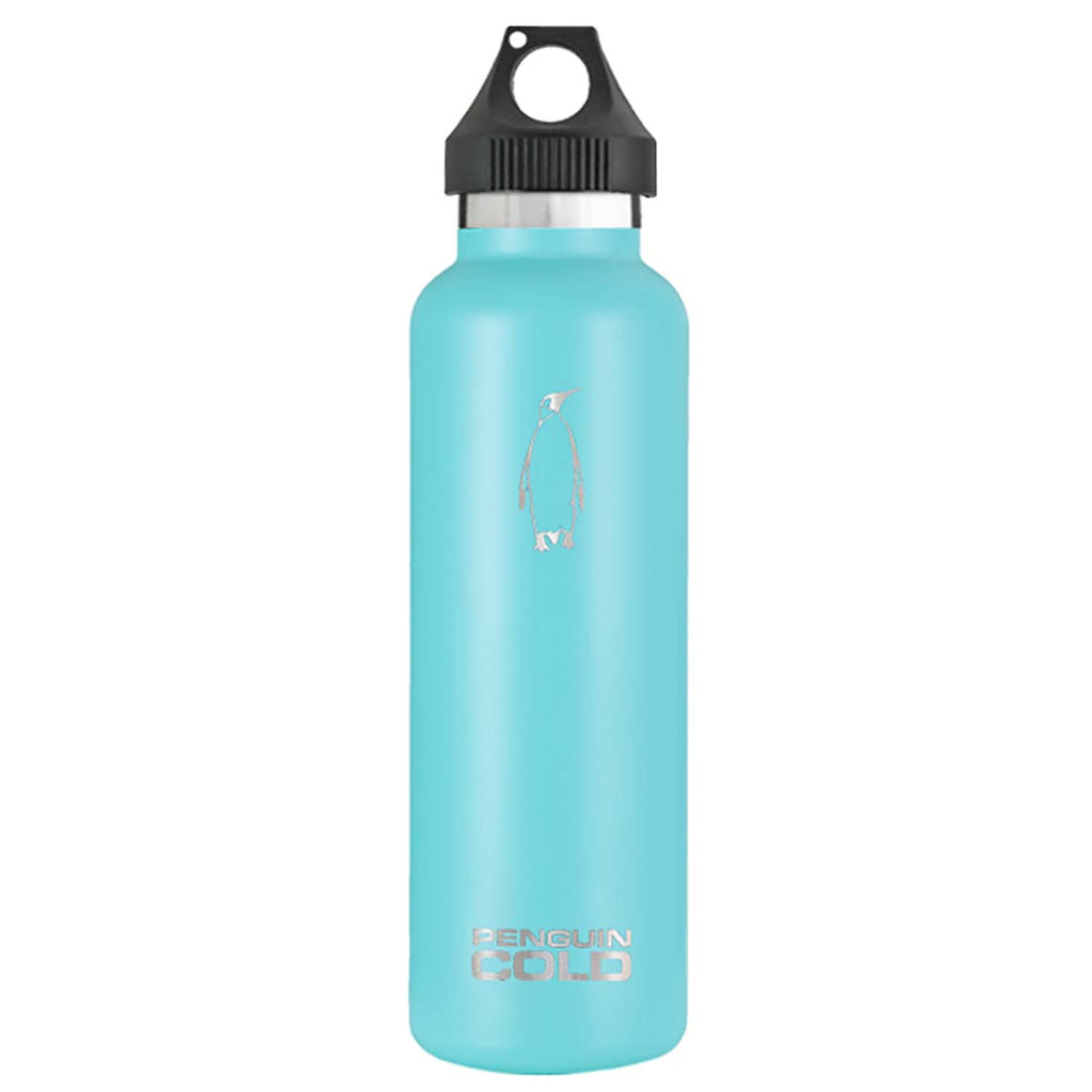 Penguin Cold Teal 21 oz Bottle with Handle Lid
