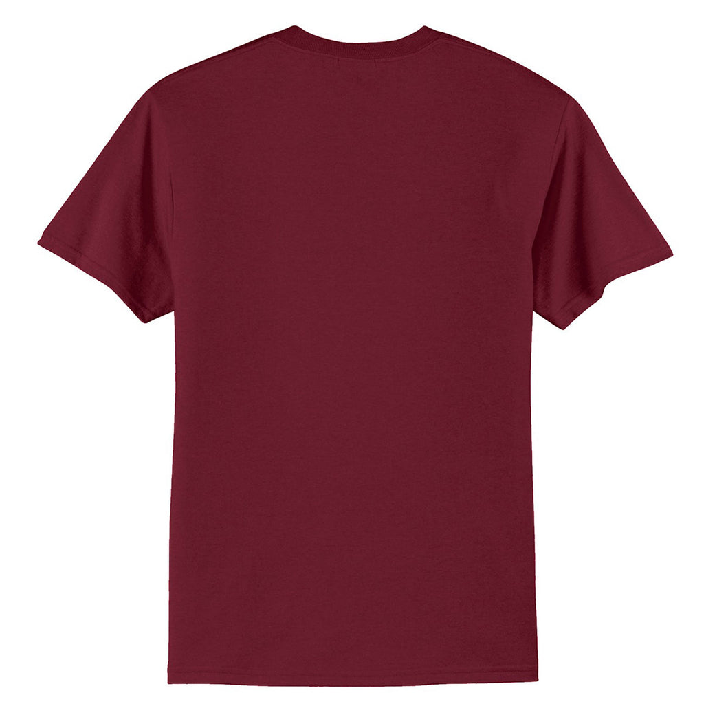 Port & Company Men's Cardinal Core Blend Tee