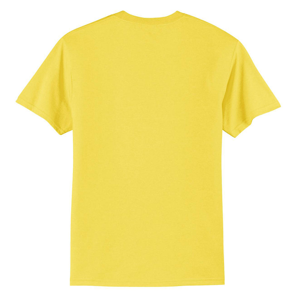 Port & Company Men's Yellow Core Blend Tee