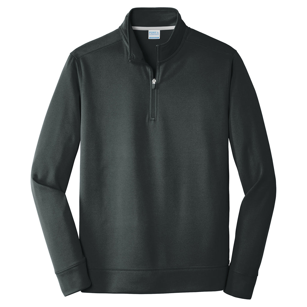 6453d0da16f ... Black Performance Fleece 1 4-Zip Pullover Sweatshirt. ADD YOUR LOGO