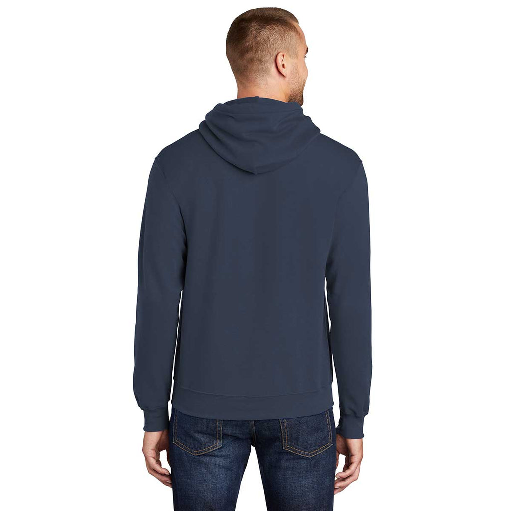 Port & Company Men's Navy Tall Core Fleece Pullover Hoodie