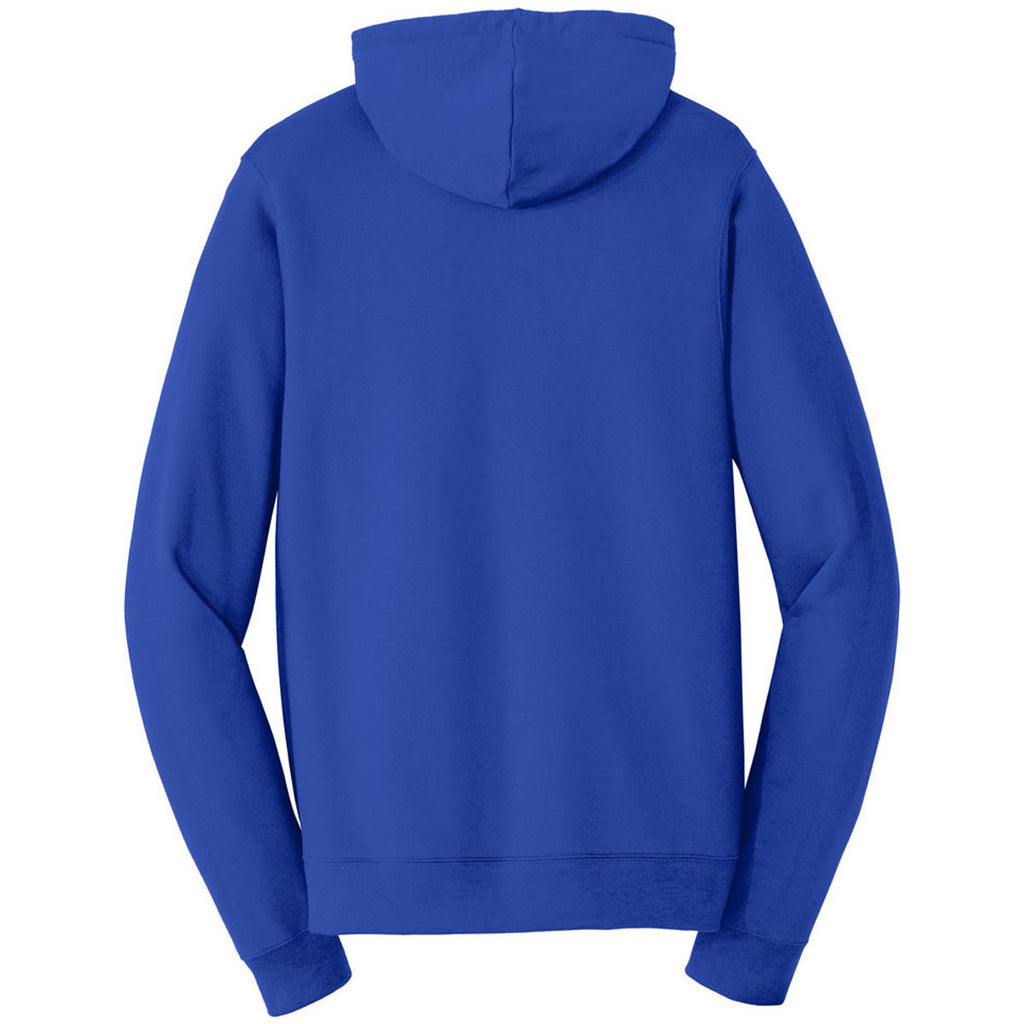 Port & Company Men's True Royal Fan Favorite Fleece Pullover Hooded Sweatshirt