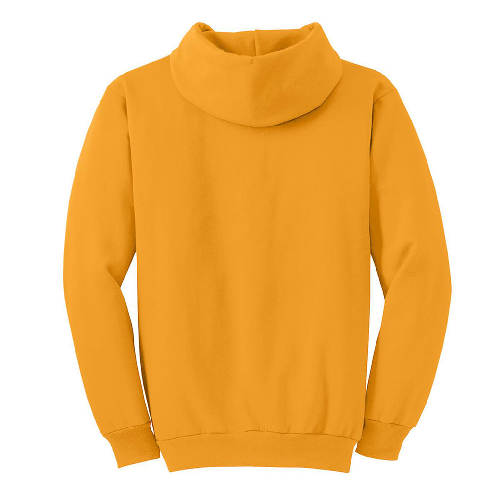 Port & Company Men's Gold Essential Fleece Pullover Hooded Sweatshirt
