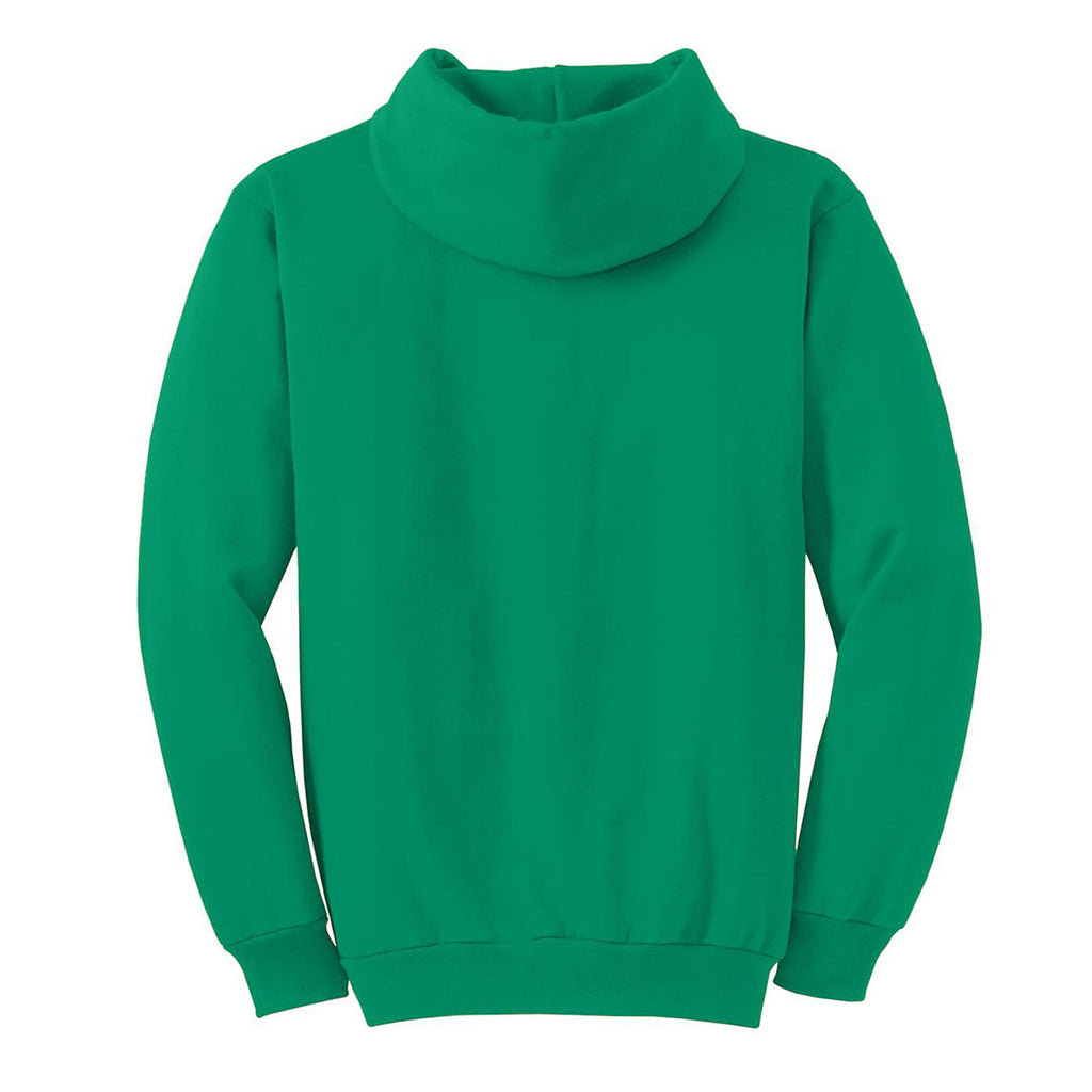 Port & Company Men's Kelly Green Essential Fleece Pullover Hooded Sweatshirt