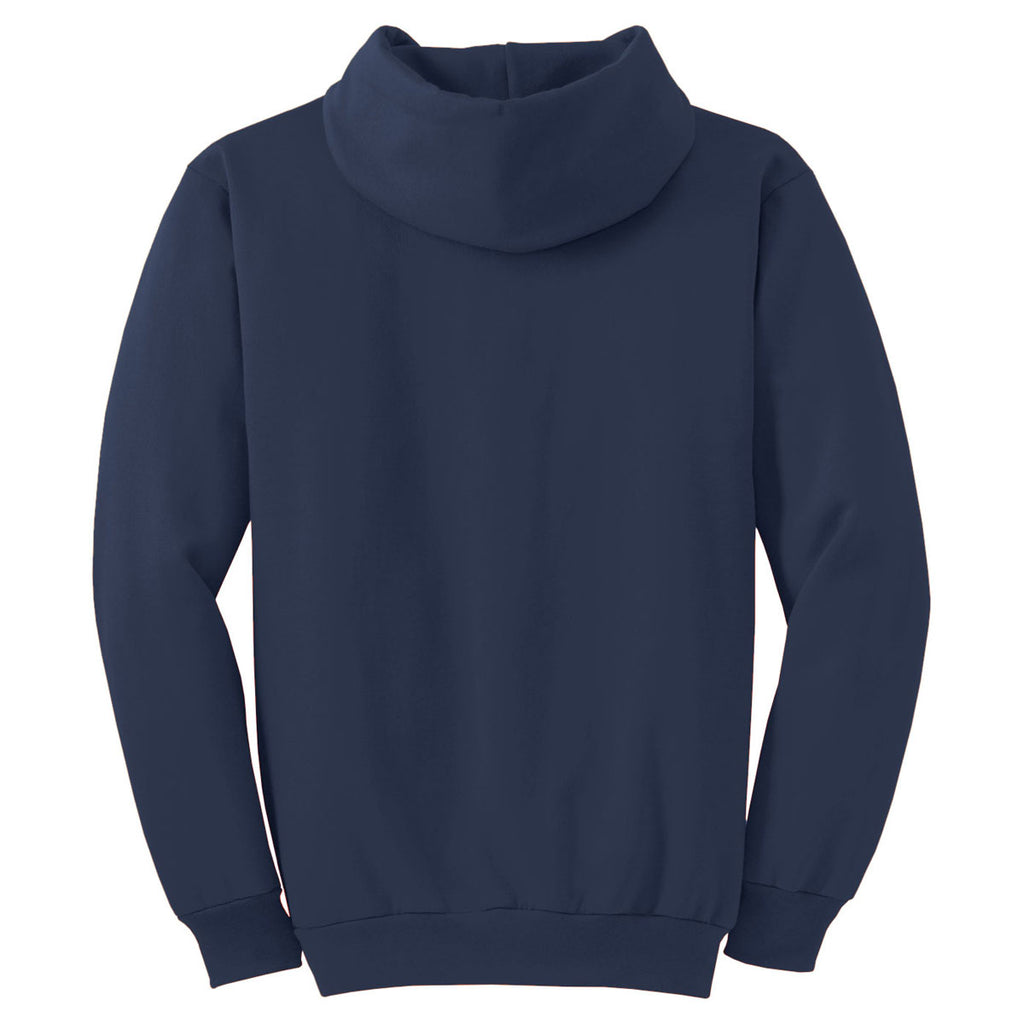 Port & Company Navy Ultimate Hooded Sweatshirt