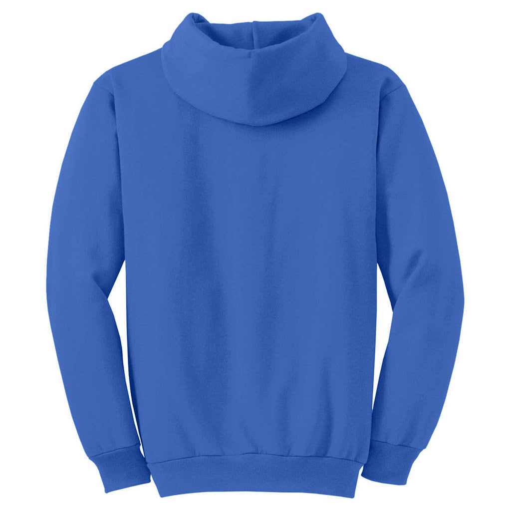 Port & Company Royal Blue Ultimate Hooded Sweatshirt