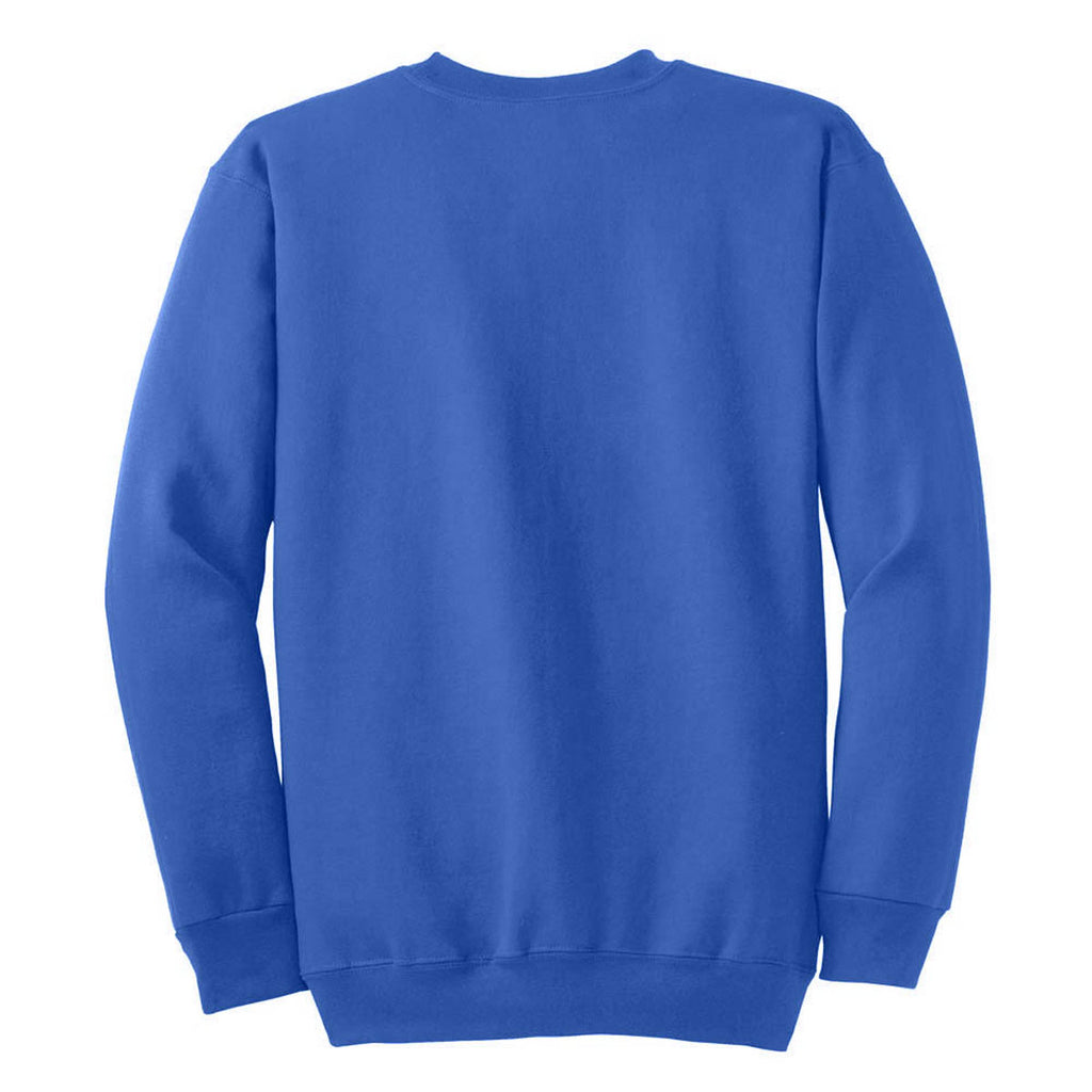 Port & Company Royal Blue Ultimate Crewneck Sweatshirt