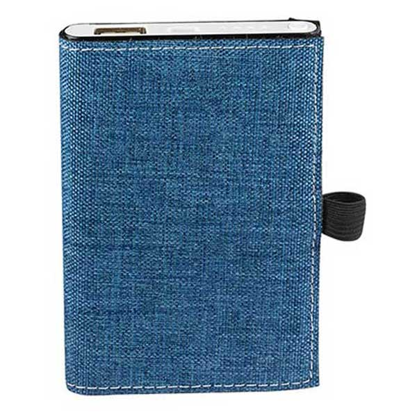 Strand Blue Snow Canvas Notebook/Executive Charger Gift Set