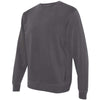 Independent Trading Co. Unisex Pigment Black Dyed Crew Neck