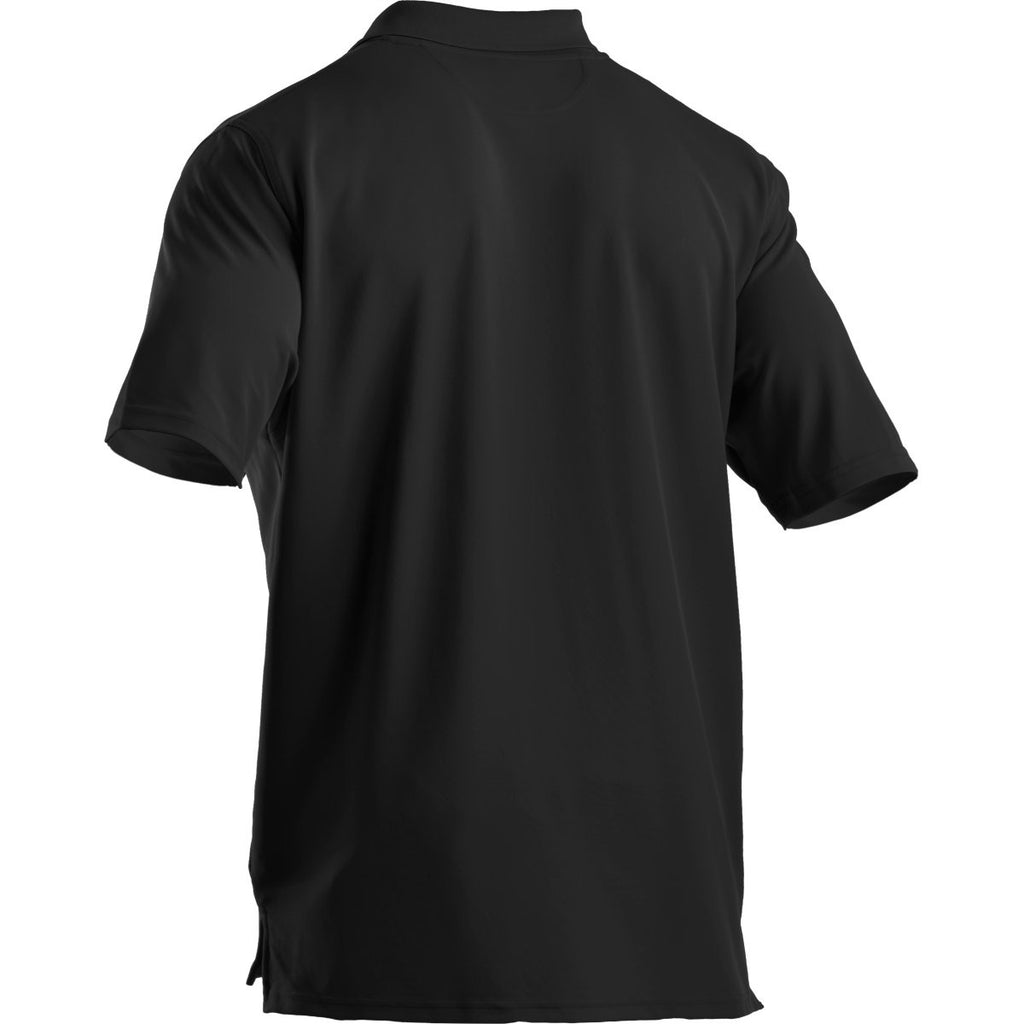 Under Armour Men's Black Performance Team Polo