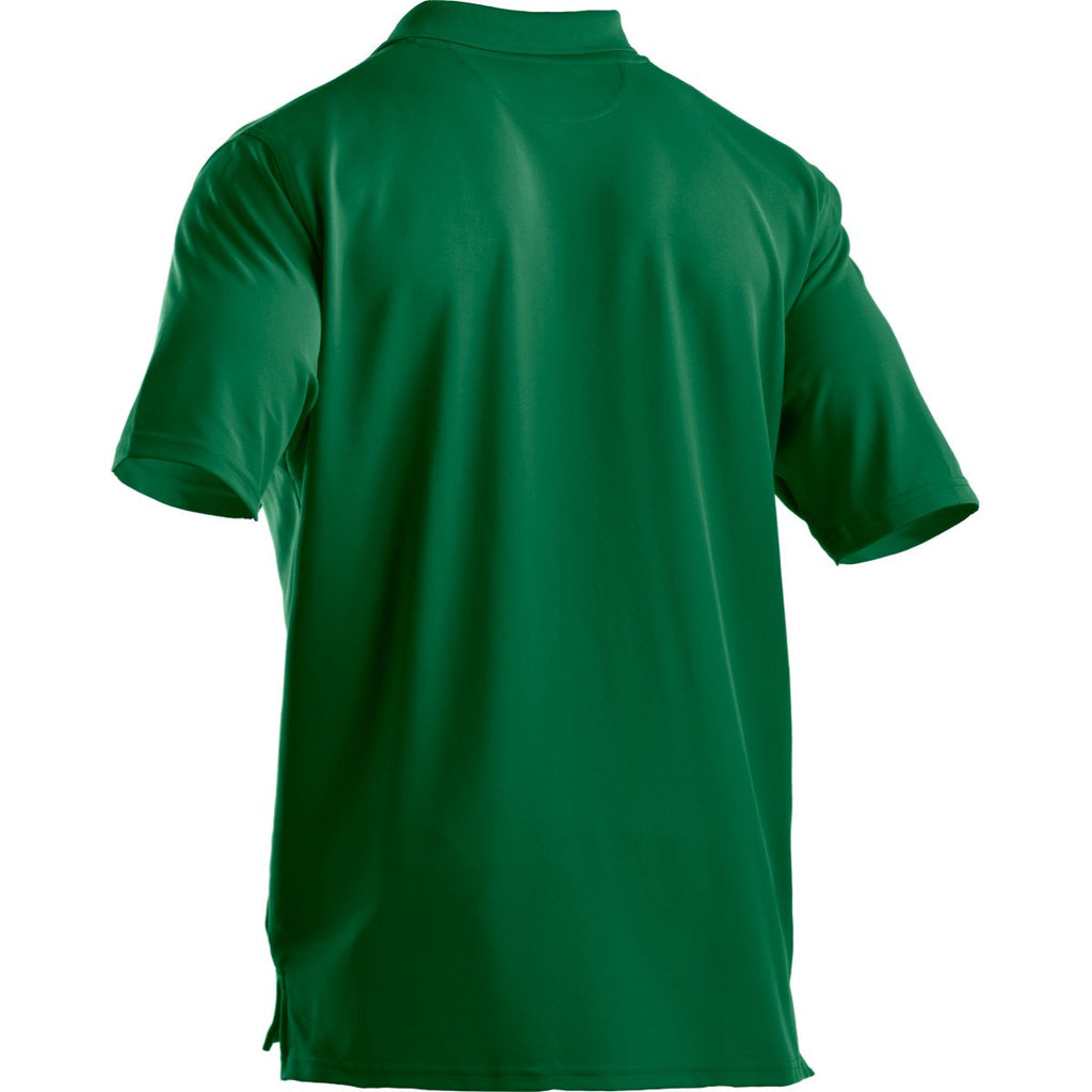 Under Armour Men's Kelly Green Performance Team Polo