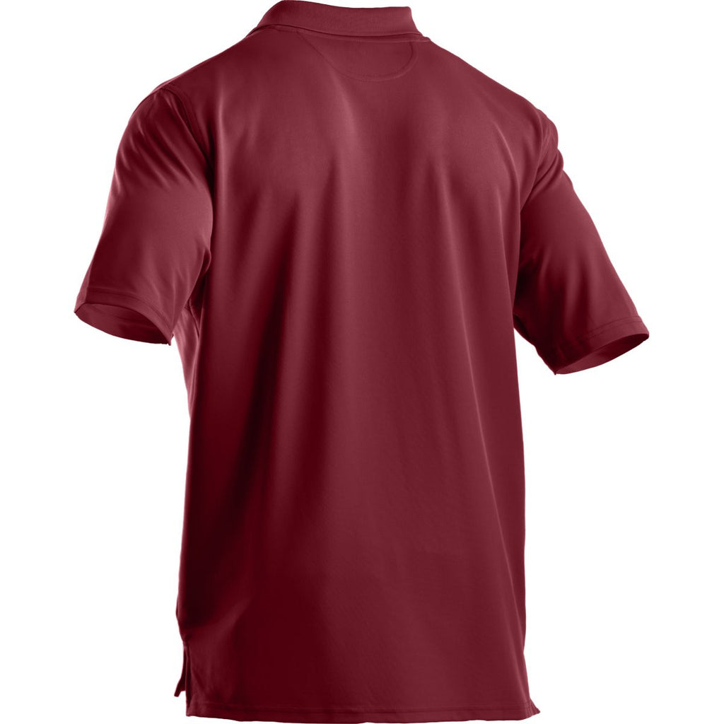 Under Armour Men's Cardinal Performance Team Polo
