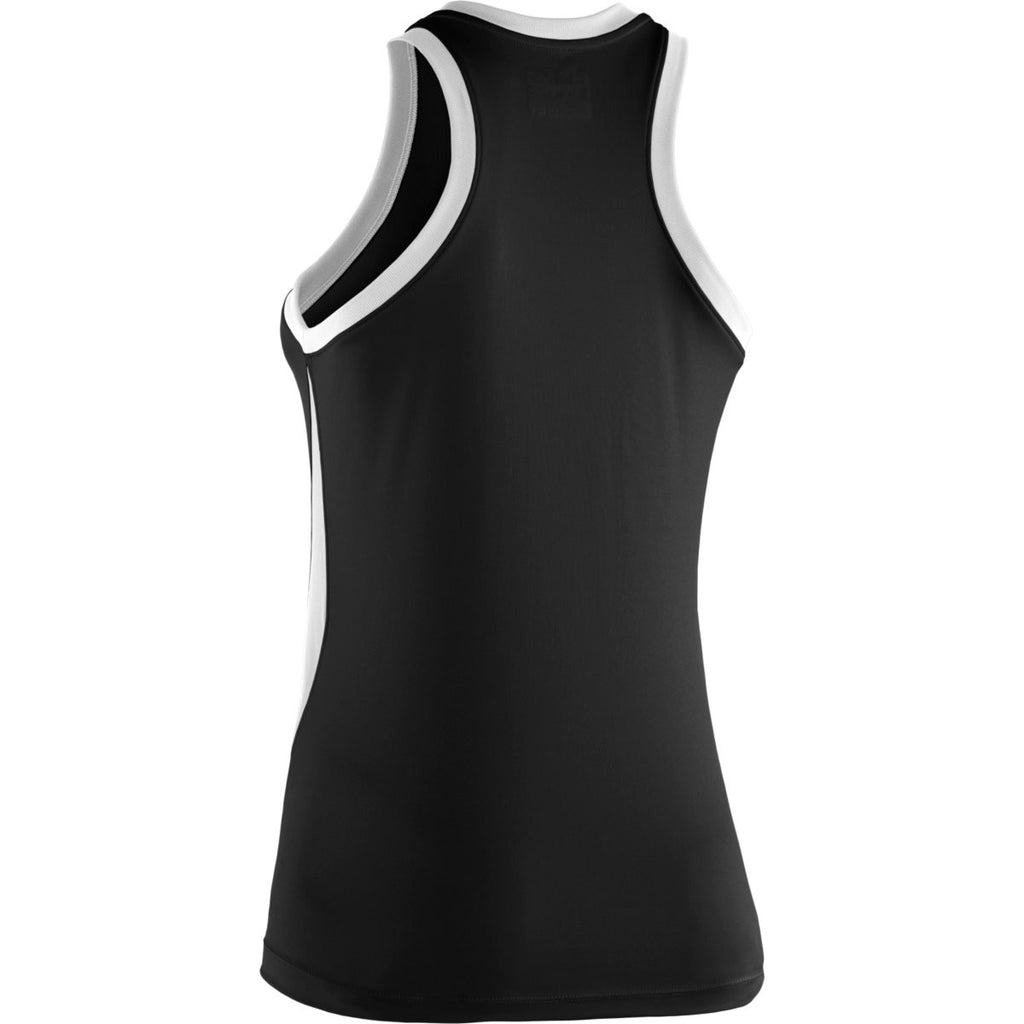 Under Armour Women's Black Recruit Sleeveless T-Shirt