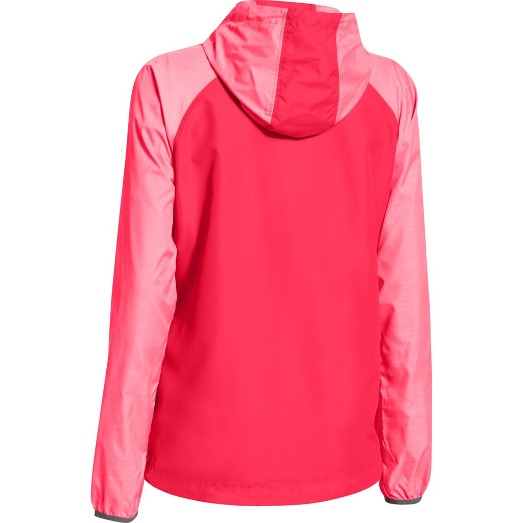 Under Armour Women's Neo Pulse Pink UA Qualifier Woven Jacket