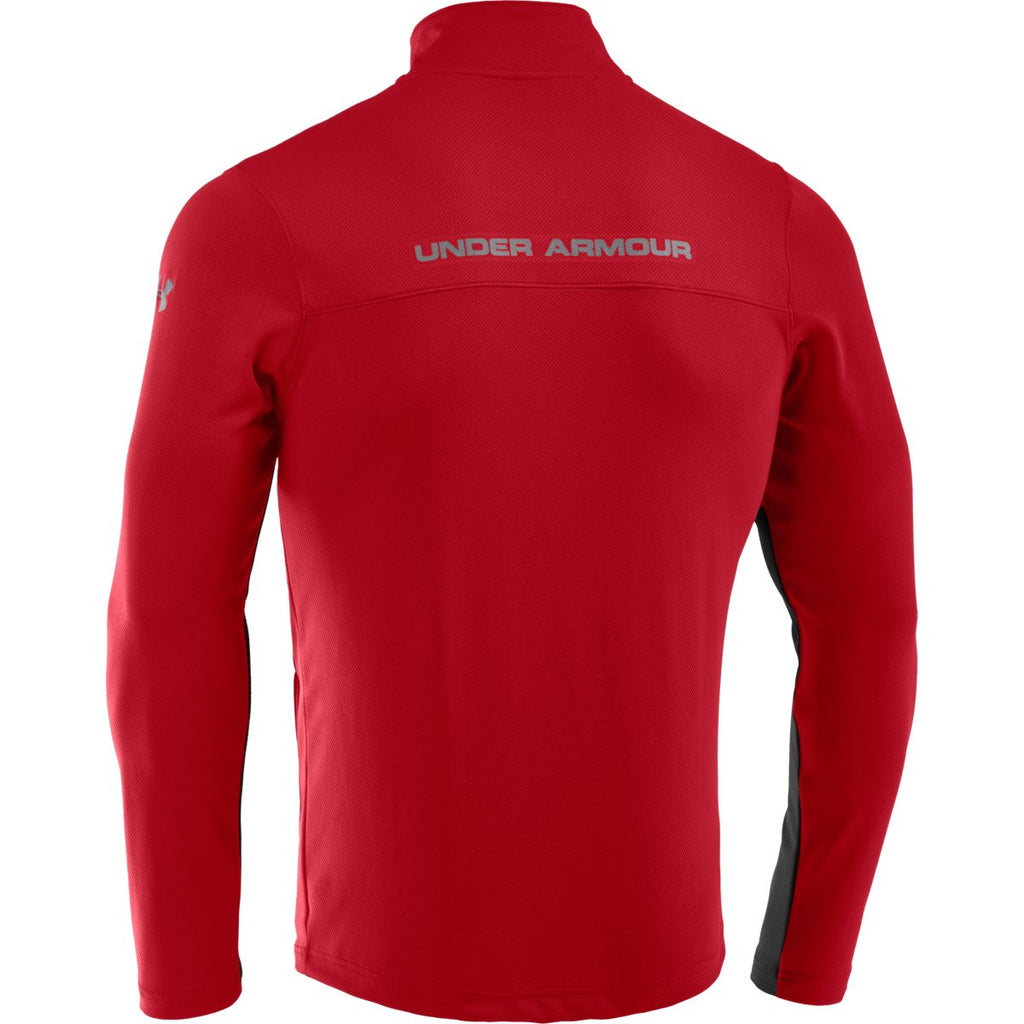 Under Armour Men's Red/Black UA Reflex Warm-Up Jacket